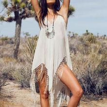 HOT sale 2015 NEW FASHION Sexy Women Crochet Bathing Suit Swimwear Bikini Cover up Beach Dress Swimsuit