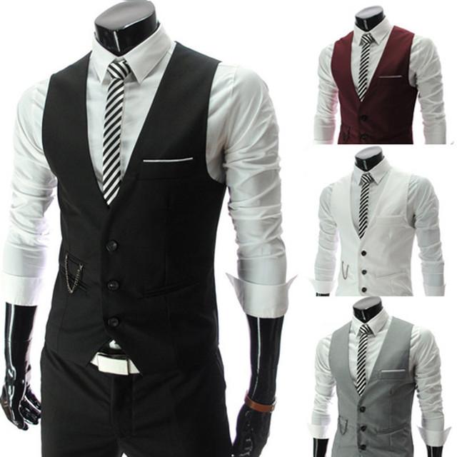 Новинка топ дизайн роскошные мужчины встроенная костюмы смокинг платье жилеты жилет ...