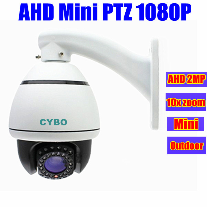 2mp MINI PTZ AHD security camera 1080P outdoor 10x optical zoom speed dome analog hd surveillance cctv cameras de seguridad(China (Mainland))