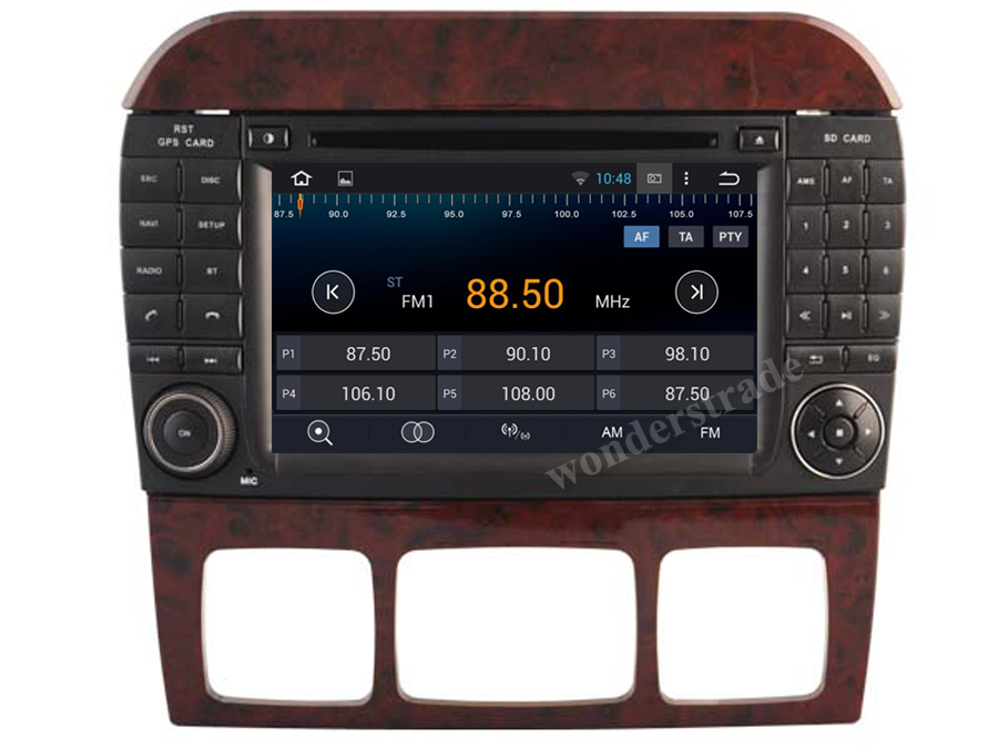 Android 4 4 Car DVD player Radio Stereo GPS for Mercedes Benz S W220 S280 S420