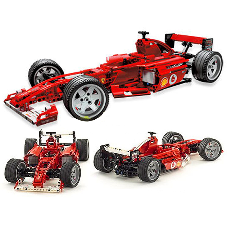 726pcs F1 Formula Racing Car 1:10 470mm/18.5in Building Blocks Sets Decool 3334 Educational Toys Brick