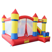 YARD Outdoor Playing Inflatable Toys Jumping House Bouncy Castle with Slide Backyard Games(China (Mainland))