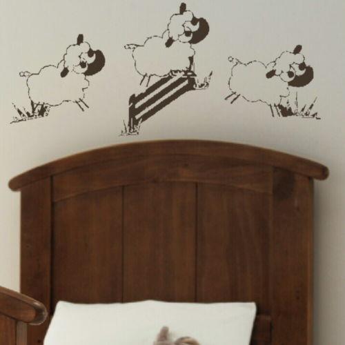 thema babykamer schaap: deze vrolijke muurdecoratie boom met, Deco ideeën
