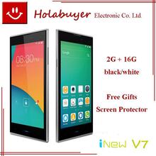 Original iNEW phone inew V7 5.0inch MTK6582 Quad Core OGS IPS 1280X720 2GB RAM 16GB ROM 13.0MP Camara  Android 4.4  6.5mm  Thick(China (Mainland))