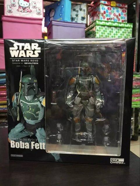Star Wars REVO No 005 Boba Fett Black Knight Darth Vader Imperial Stormtrooper Storm trooper 15CM