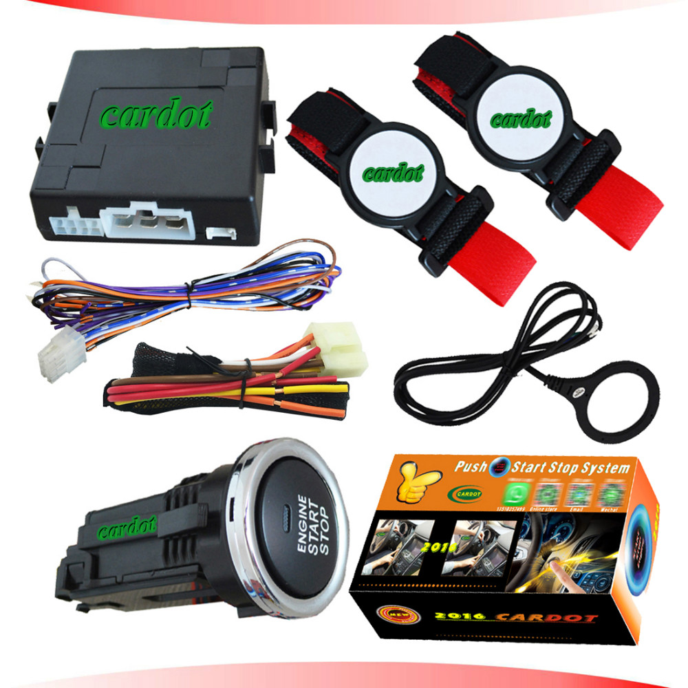Diesel Engine Start Stop System : Rfid wrist band car alarm system with remote start stop