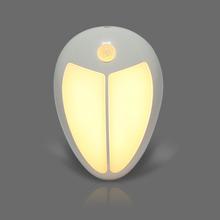Sleeping Feeding LED Night Light IR Sensor Light Sensor Wall Light Lamp White / Warm White for Bedroom Hallway Cabinet Stairwell(China (Mainland))