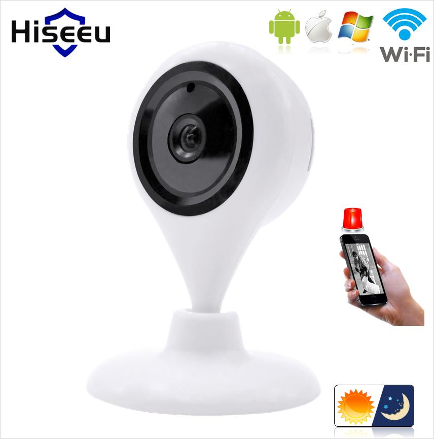 FREE SHIPPING 720P HD IP Camera WiFi Wireless TF Card Storage night vision Network Security CCTV