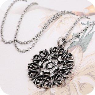 Sunshine jewelry store fashion bohemia decorative pattern necklace X123( $10 free shipping )