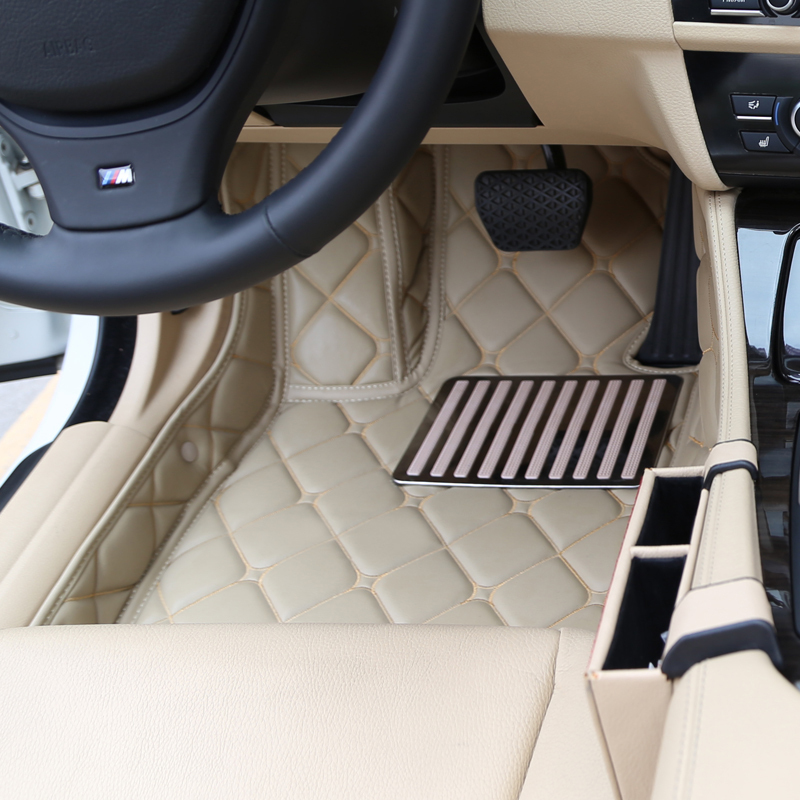 special wholly surrounded car floor carpets for Camry Reiz Crown Corolla Vios Verso five seats waterproof non slip<br>