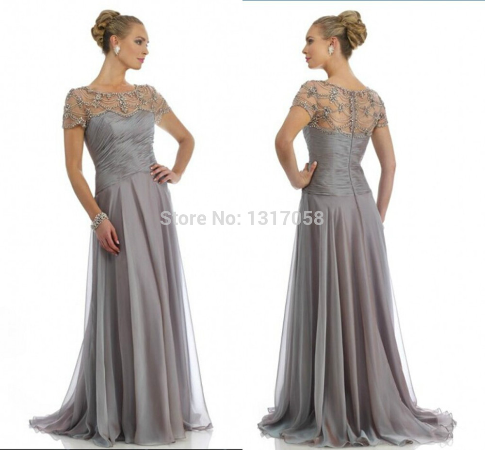 Light Gray Mother Of The Bride Dresses Discount Wedding