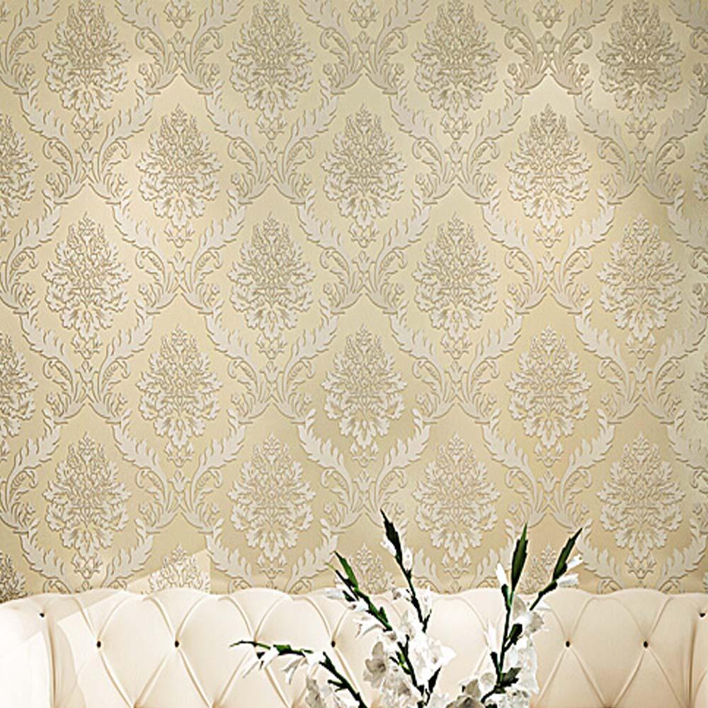 Popular purple damask wallpaper buy cheap purple damask for Cheap wallpaper for walls