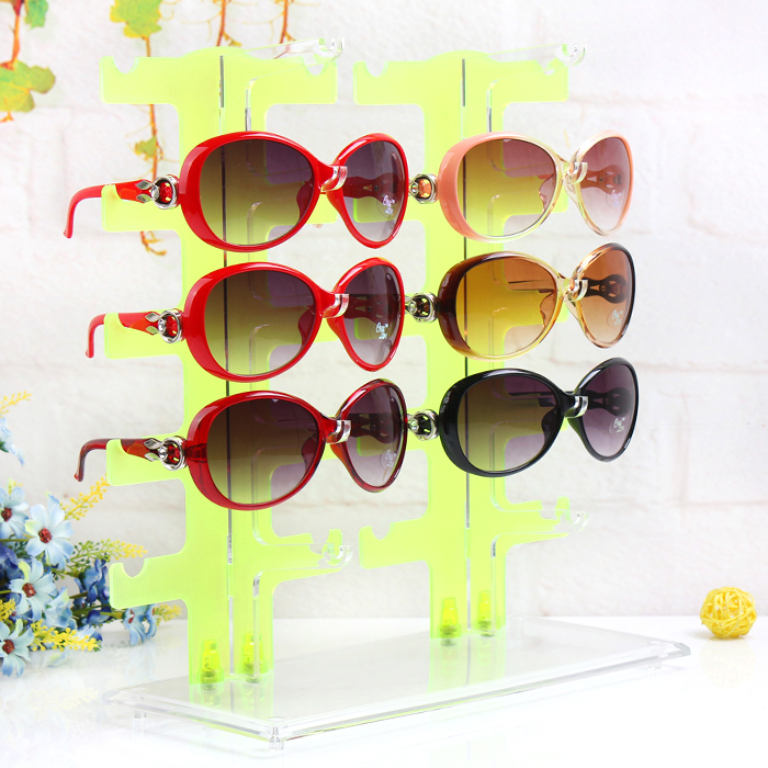 A108-2 New For 10X Eyeglasses Sunglasses Glasses Plastic Frame Display/Show Stand Holder(China (Mainland))