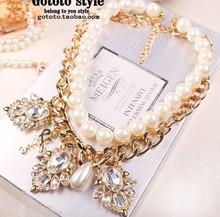 2016 Chains Necklaces Limited Offer Women Chains Necklaces Zinc Link Chain Collares Maxi Necklace Collier Fashion Leaf Cz97690