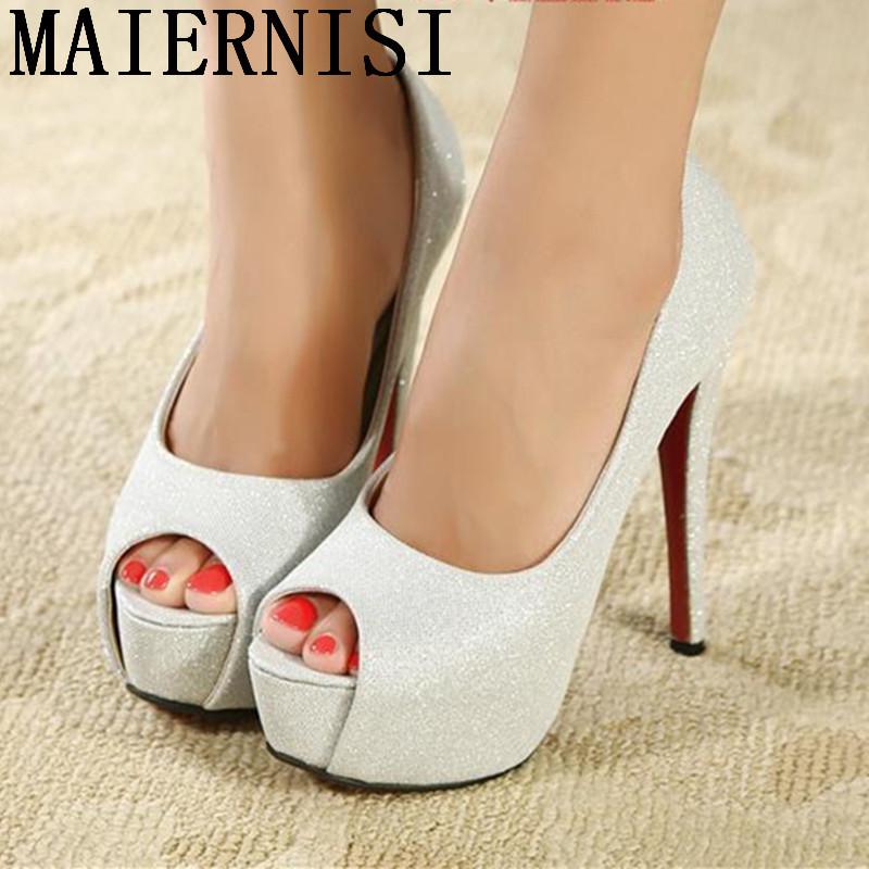 Popular Silver Heels Size 11-Buy Cheap Silver Heels Size 11 lots ...