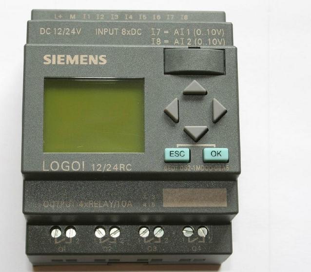 Здесь можно купить  Simatic LOGO! 12/24RC 6ED1052-1MD00-0BA6 PLC Programmable Logic Module Controller, 100% New In Box  Электротехническое оборудование и материалы