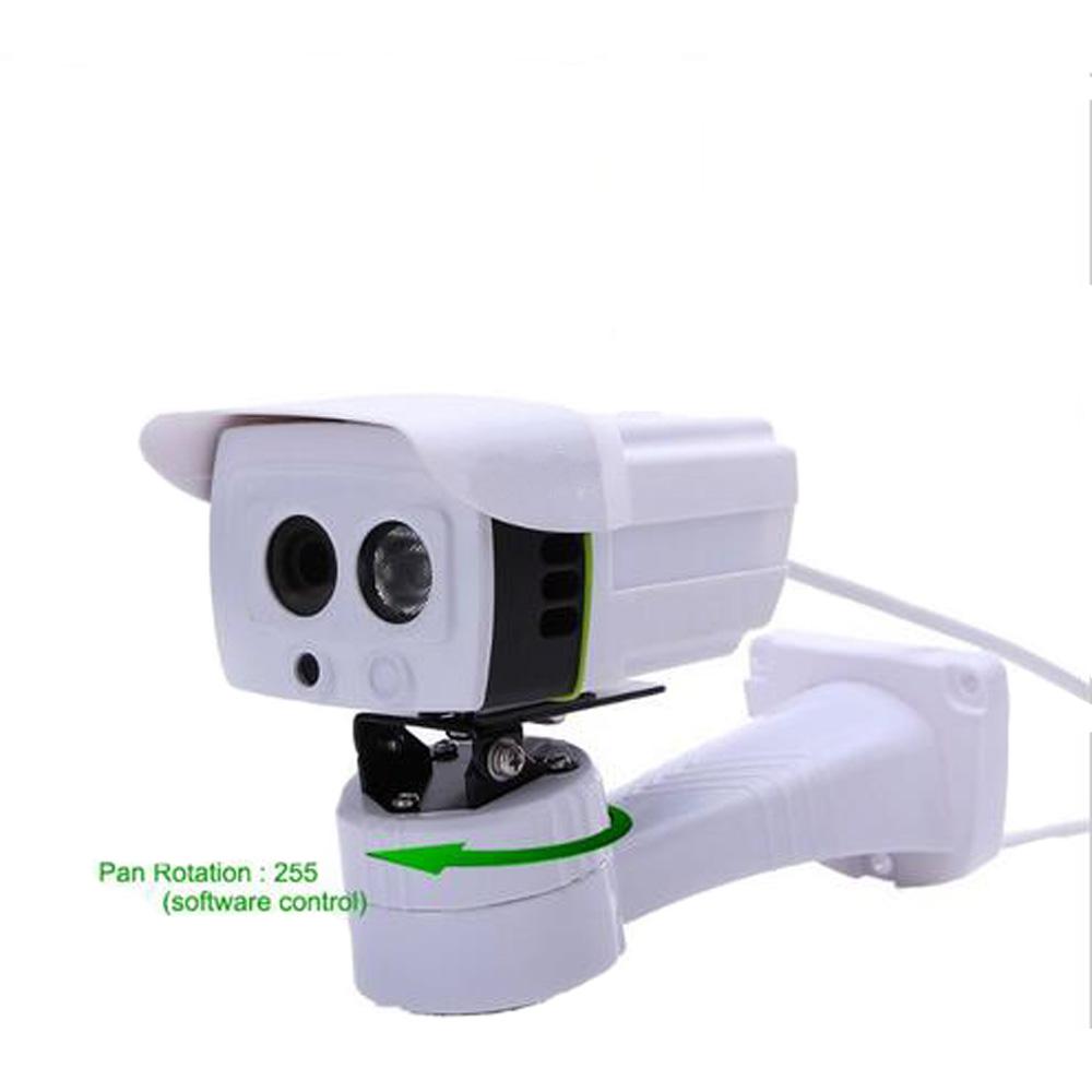 Wired 255 degree Pan Horizontal Rotation 720P IP Camera Outdoor waterproof IP66 Camera IP P2P smart Phone remote View IPCam(China (Mainland))