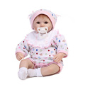 17Inch New Born Baby Dolls Baby Reborn Meninas Children Best Gift Silicone Reborn Baby Dolls for