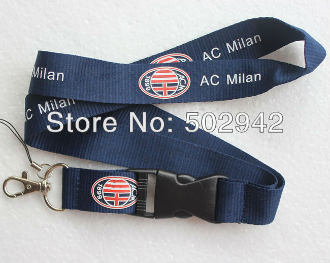 Hot Key chains ID Holder Cell Phone Charms Neck Strap Navy Lanyard,Man Women Boys Girls Sport Teams Detachable Lanyards SW0002(China (Mainland))