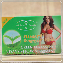 Green tea moist whitening soap & thin body weight 100 g free shipping