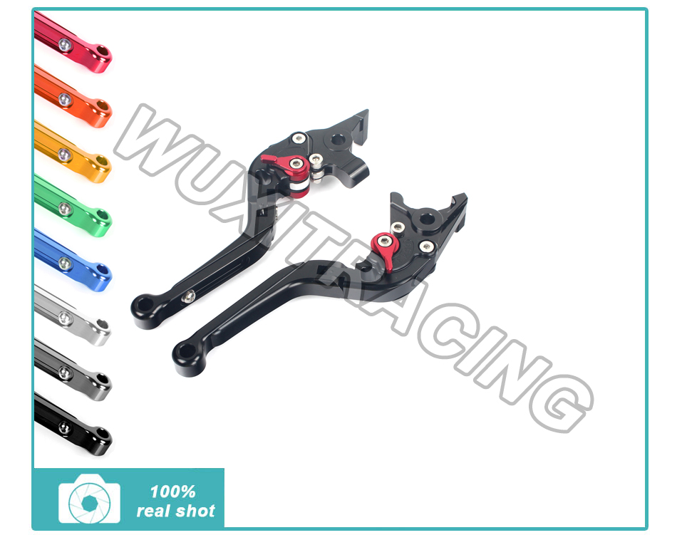 CNC Adjustable Extendable Folding Brake Clutch Lever For YAMAHA FZS 600 FZS600 Fazer 98-03 1998 1999 2000 2001 2002 2003<br><br>Aliexpress