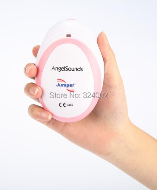 Angel Sounds Mini Baby Heart Rate Monitor Fetal Doppler Ultrasound Prenatal Fetal Detector Portable CE FDA(China (Mainland))