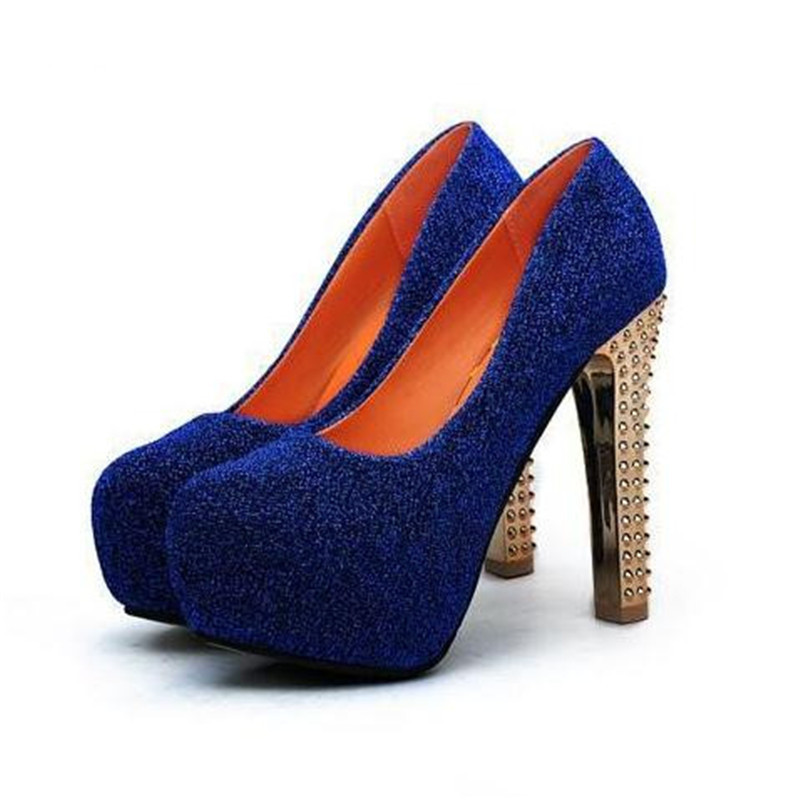 Online Get Cheap Royal Blue Prom Shoes Aliexpress