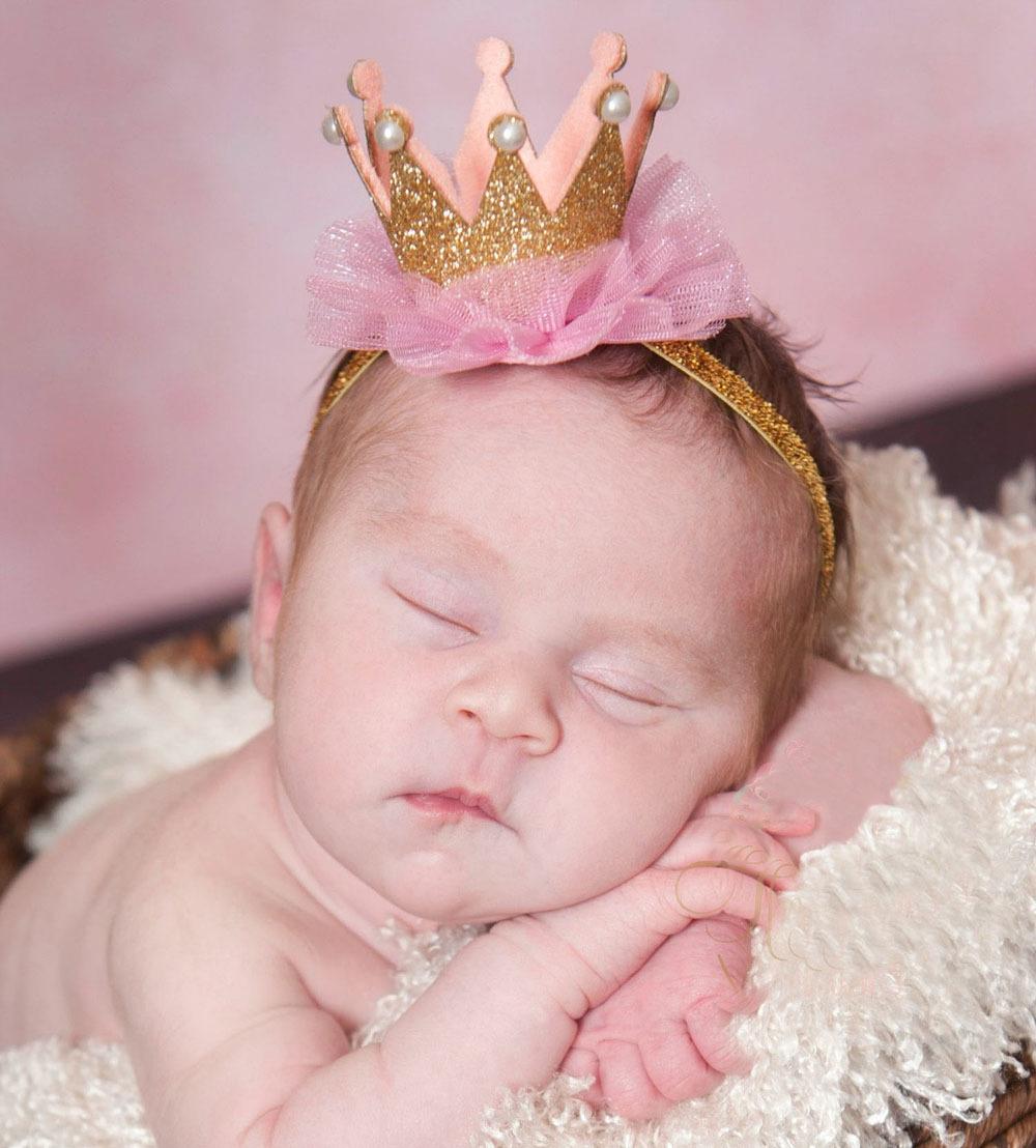 baby girl flower princess crown headband elastics headbands for newborns hair accessories kids hair head band ornaments hairband(China (Mainland))
