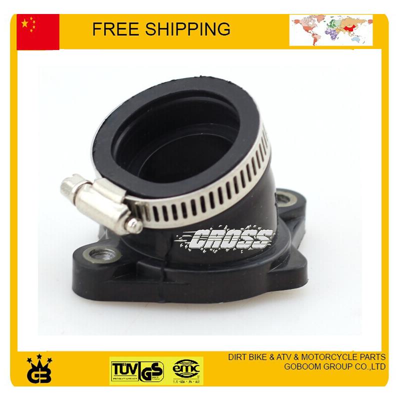 30mm intake pipe Manifold Pipe 200cc 250cc ATV Dirt Bike part zongshen loncin lifan engine free shipping(China (Mainland))