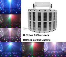 Suny led 6 canali wireless controller dmx512 controllo proiettore laser della fase di esposizione del partito della discoteca luce della fase del dj club di illuminazione(China (Mainland))
