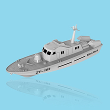 Mini Dragon Electric Powered Torpedo Boat Mini Shark Electric Powered Missile Boat DIY Educational Toys Children Gifts(China (Mainland))