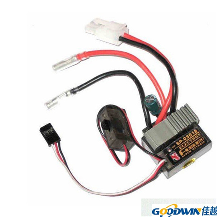 HSP 320A 03018 Two Way ESC Brush T658 For RC Car RC Boat Overheat protection Low-voltage Forward Backward Functions(China (Mainland))
