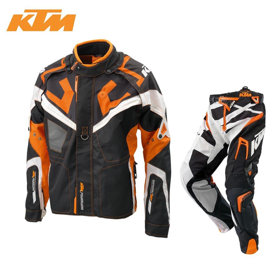 KTM race light PRO trajes de moto motocross enduro cross traje de chaqueta + pantalones Rally