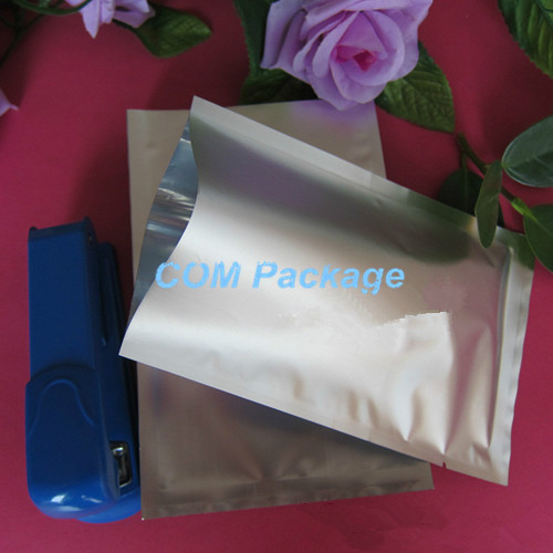 8*12cm Food Storage Bag Retail Package Open Top Matte Aluminum Foil Bag Mylar Heat Seal Vacuum Packing Pouch For Snack Candy Tea(China (Mainland))