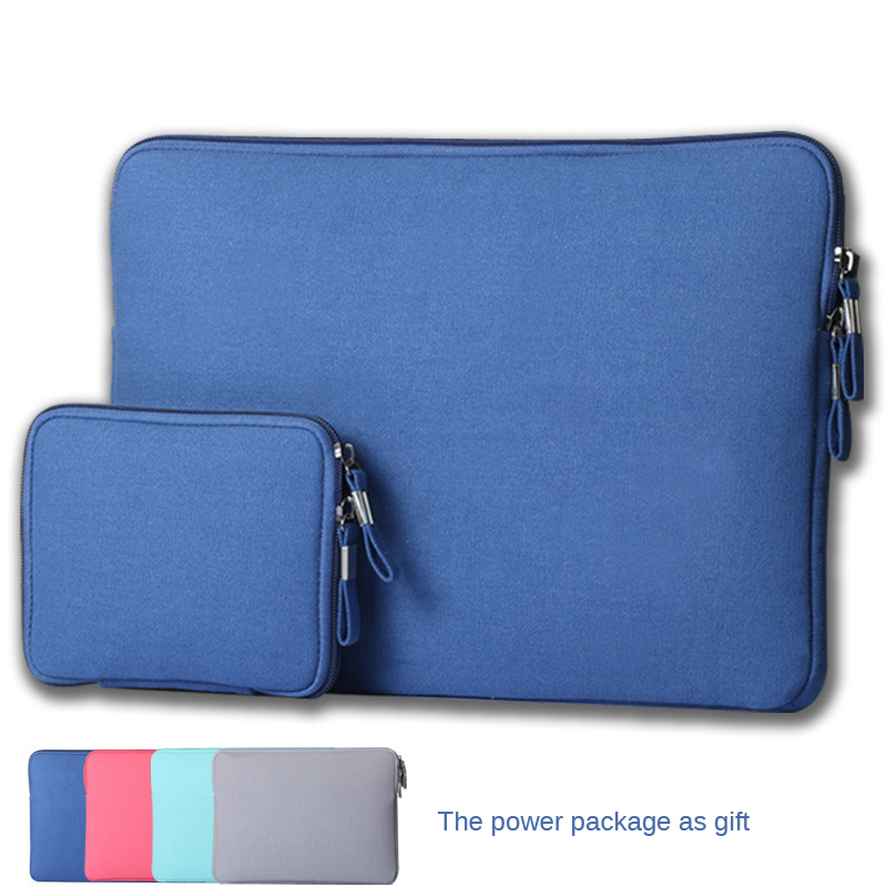 Tablet Laptop Bag 11,12,13,15 inch Notebook Computer Bags Laptop Sleeve Case13.3 For Macbook Ultrabook Man Women+Battery Pack(China (Mainland))