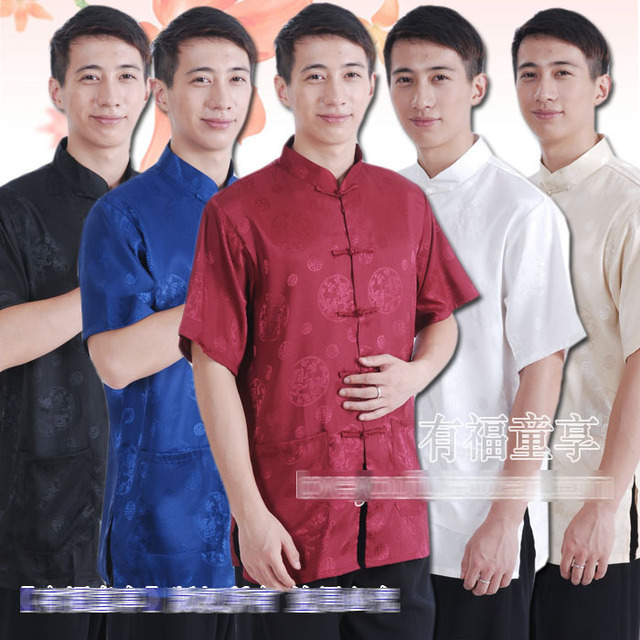 2013 NEW, Tang Suit Men, Tangzhuang, Hanfu, Zhongshan Dress Men, Chinese Style Suit, traditional chinese garment, Changshan