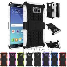 Heavy Duty hybride Rugged Hard retour housse pour Samsung Galaxy S6 bord Plus avec béquille cas de téléphone 200 pcs/lote