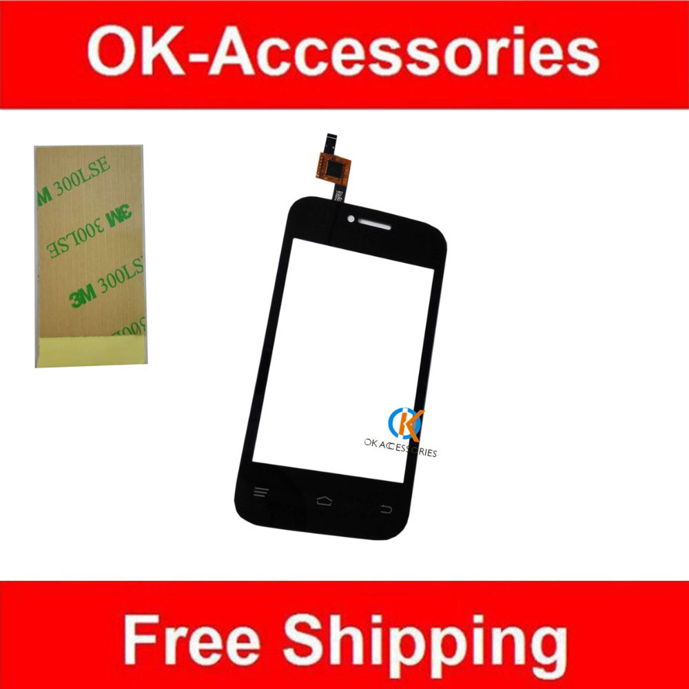 100% Guarantee Fly IQ239+ IQ239 Plus Touch Screen Digitizer Black White Color1PC /Lot Free 3M Adhesive Tape