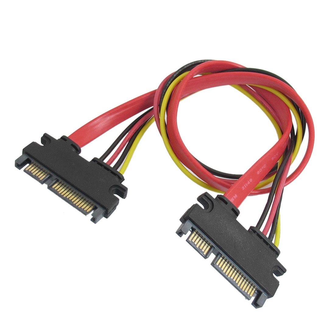 UXCELL Computer 15 Pin + 7 Pin Serial Ata Sata Male To Male Power Cable(China (Mainland))