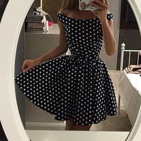 Платье короткая лето, черный рукавами изящные молодые a слово девочка, в из, из элегантный