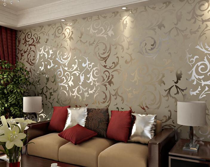 Buy adesivo papel de parede floral 3d for Colocar papel mural