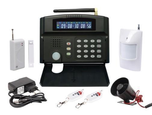 Здесь можно купить  GSM alarm system with LCD screen  Безопасность и защита