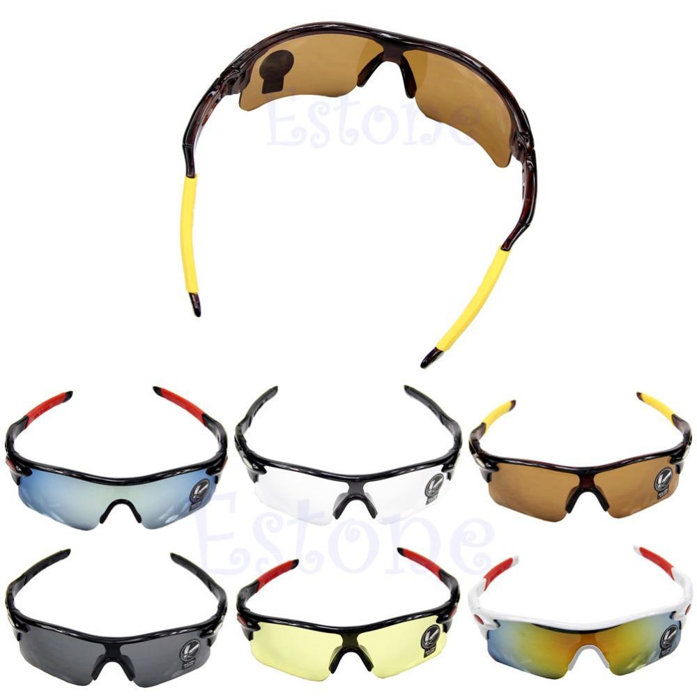Free Shipping Men Sport Fishing Driving Cycling Bicycle Bike Sunglasses UV Protection Glasses(China (Mainland))