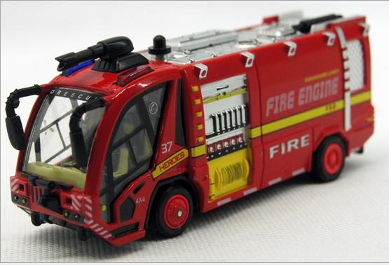 Pull Back model car toy opening door Music Diecast car Vehicle toys alloy Fire engine police car fire truck Children's toys #D(China (Mainland))