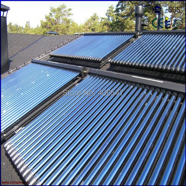 heat pipe pressurized solar thermal collector(China (Mainland))