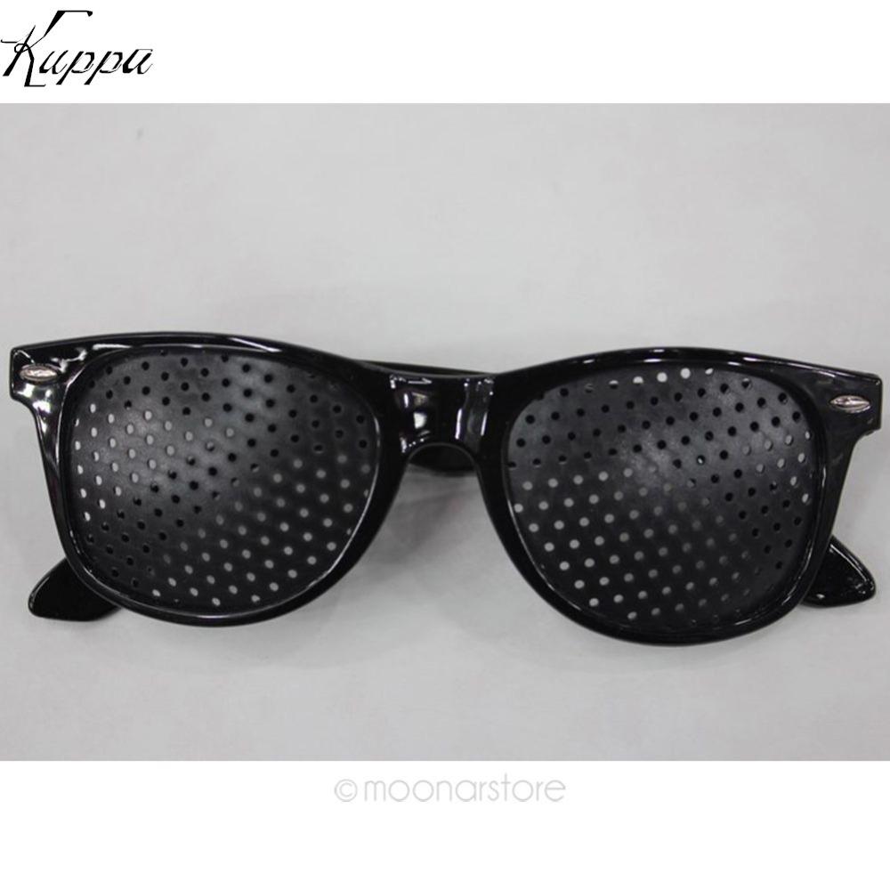Hot Sell 2017 Fashion Eyesight Improver Anti-fatigue Vision Care Stenopeic Pinhole Glasses Vision Improve Correction