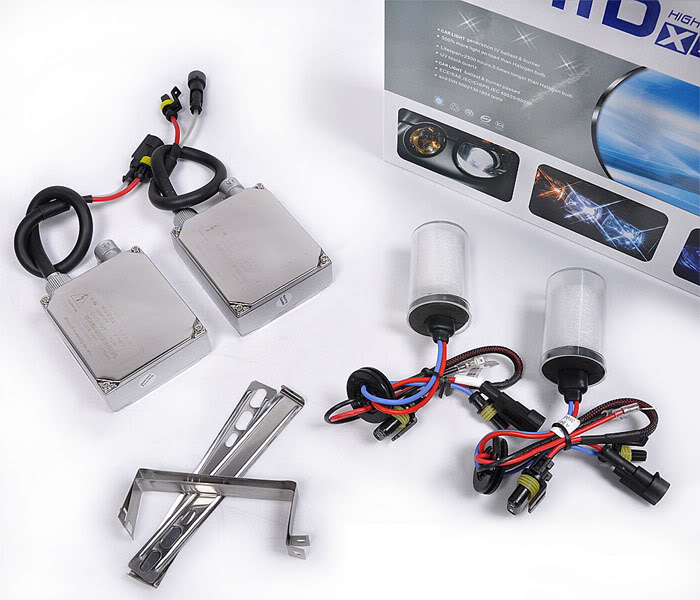 12V 55W HID Xenon Conversion Ballast Kit Bulbs 9006 6000K Built-in decoder [AC302]<br><br>Aliexpress