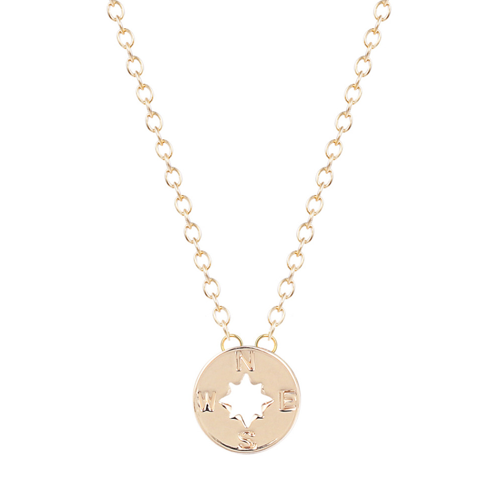 Handmade Jewellery New Arrival simple Compass Necklaces wholesale fashion designer jewellery mother daughter(China (Mainland))