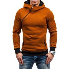 FGKKS Homens Primavera Camisola Do Hoodie Da Marca Cor Sólida Velo Treino Sportswear Sudaderas Hombre Hip Hop Com Capuz Masculino Tamanho DA UE(China)