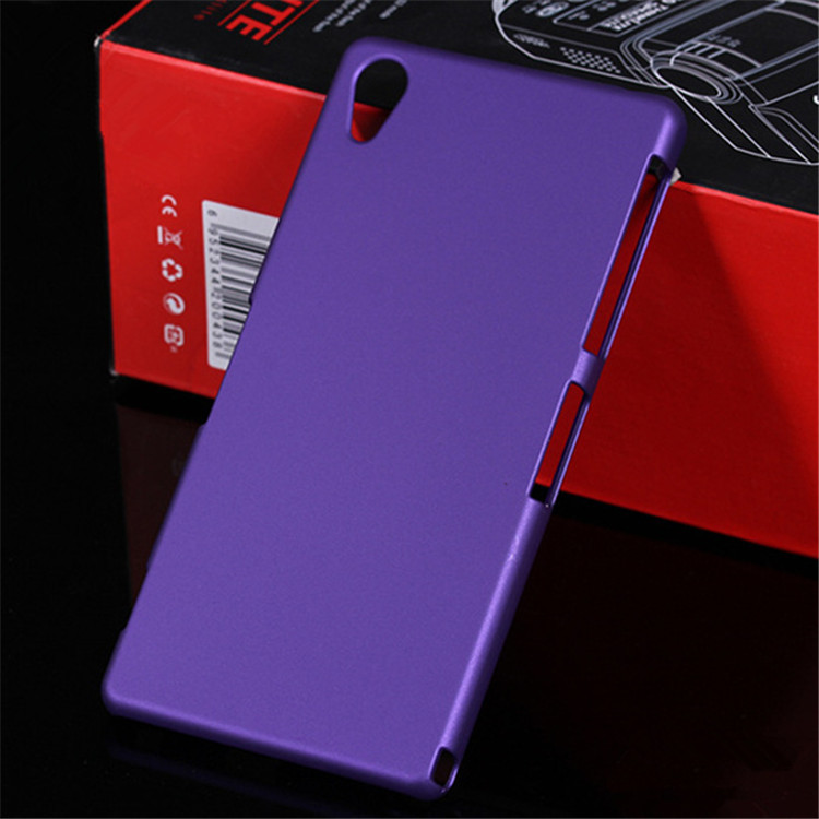 case for sony xperia z1 honami c6906 c6903 c6902 c6943 l39 l39h z one colorful solid matte original protective hard back cover(China (Mainland))